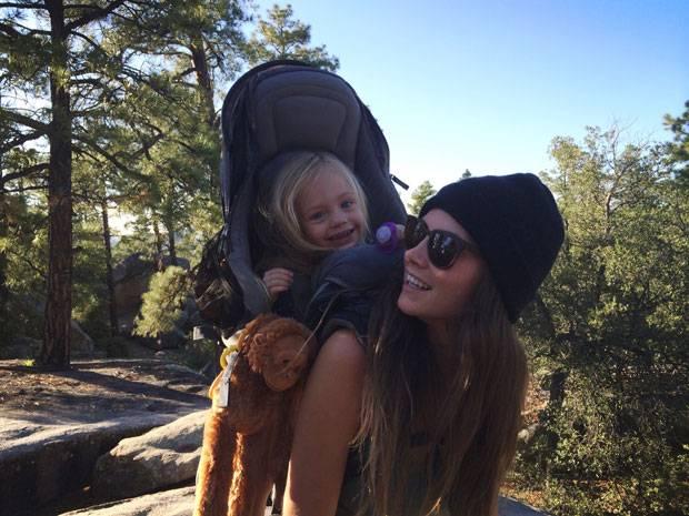 Wandern mit Baby: keine Bildunterschrift
