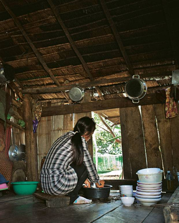Menschenhandel: Nita in der Waschküche