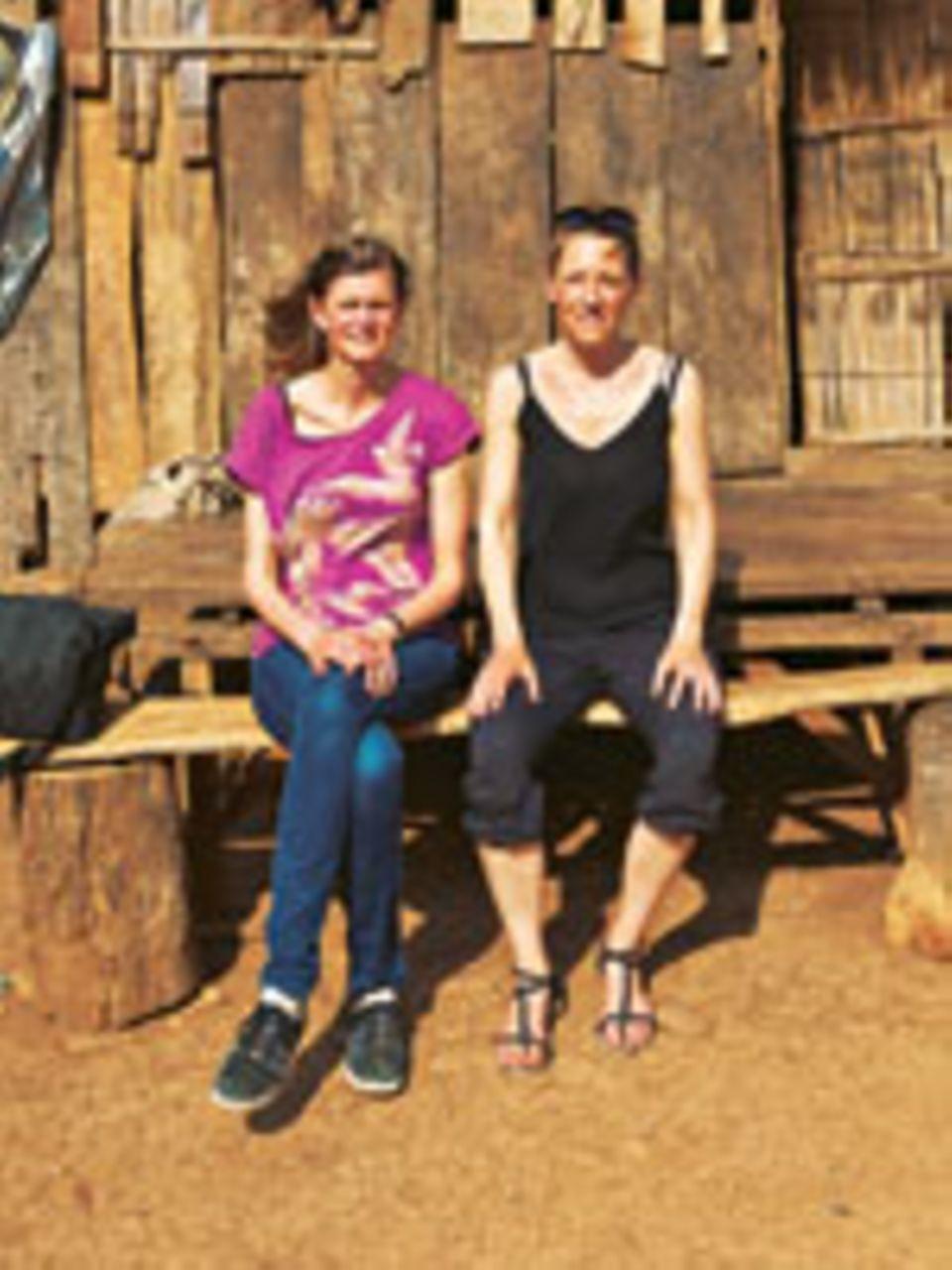 Fotografin Julia Knop (Rechts) und Autorin Meike Dinklage