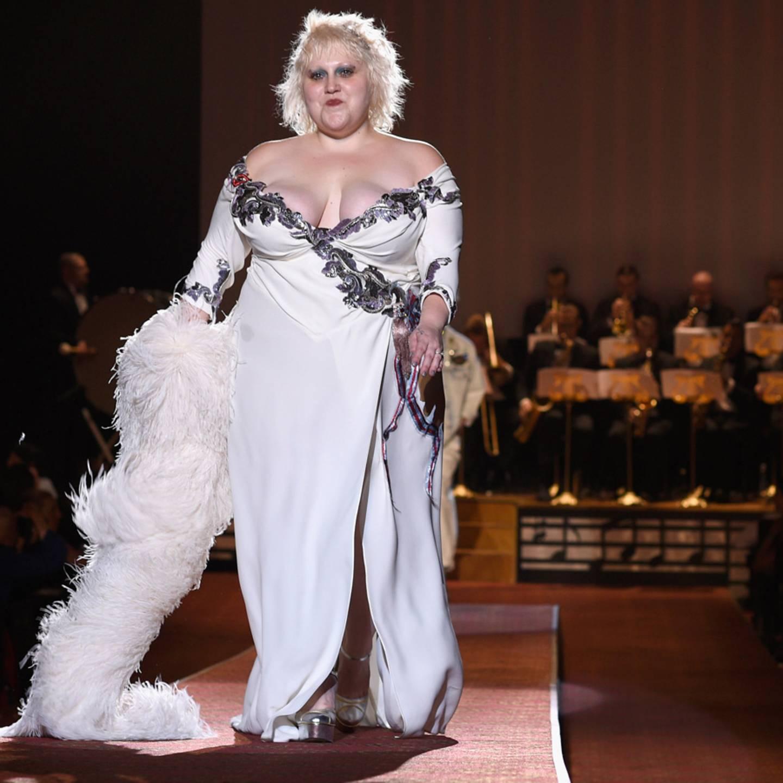 Beth Ditto rockt als Model die New York Fashion Week
