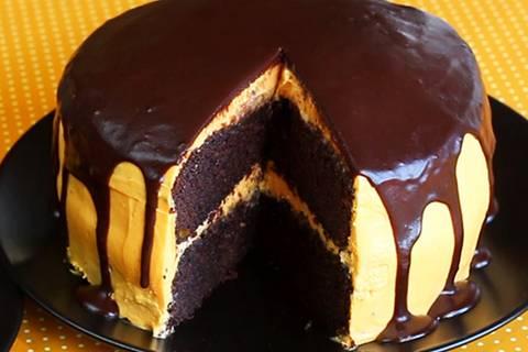 Schoko-Kürbis-Torte