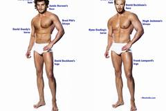 Wie sieht der perfekte Männerkörper aus?