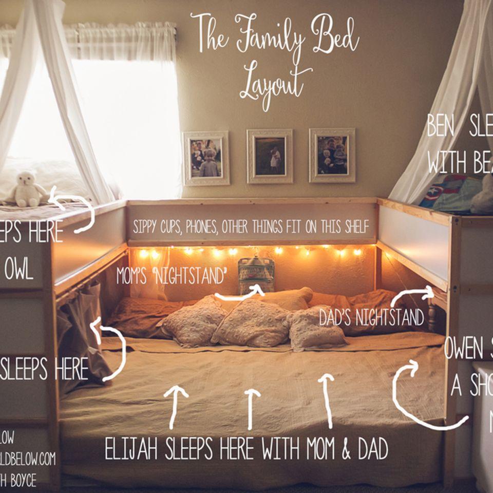 Ist das das gemütlichste Familienbett der Welt?