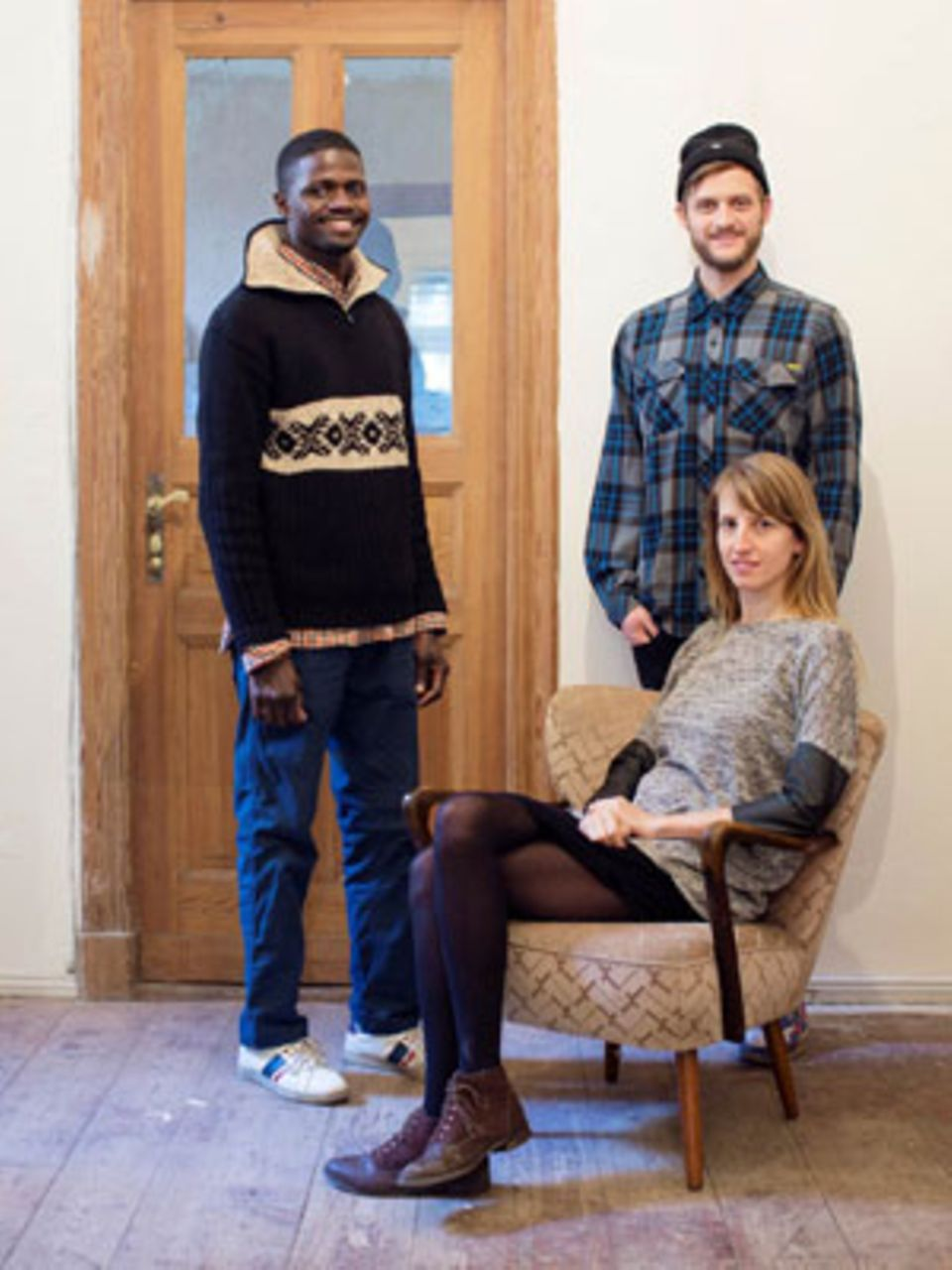 Der 39-jährige Bakary aus Mali lebte für mehrere Monate in der WG von Jonas und Mareike. Inzwischen hat er eine eigene Wohnung gefunden.