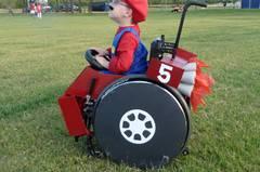 """Nein, man muss nicht rennen können, um ein """"Super Mario"""" zu sein."""