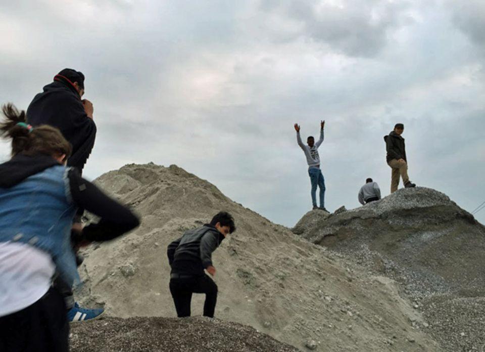 Gemeinsam Berge erklimmen: Auch das gehört zum Projekt.