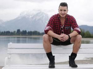 Auf eine Milch mit Andreas Gabalier: In den Bergen kommt Andreas Gabalier zur Ruhe.