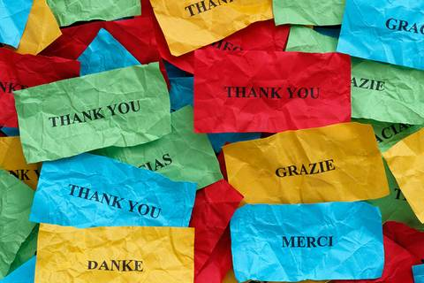 Test: Wem solltest du heute einen besonderen Dank aussprechen?