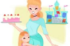 Zum Start von Disney+: Wenn Disney-Prinzessinnen Mamas wären ...