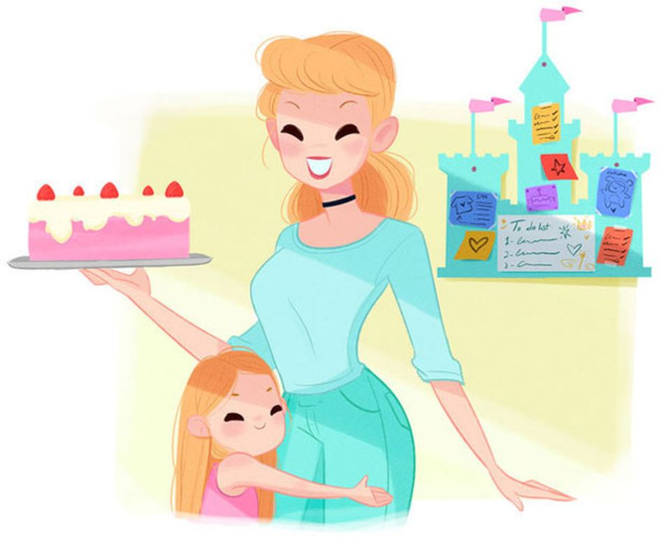 Disney+: Wenn Disney-Prinzessinnen Mamas wären ...