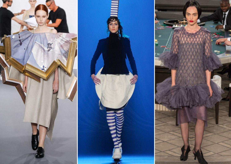 Die schrägsten Looks der Haute-Couture-Schauen