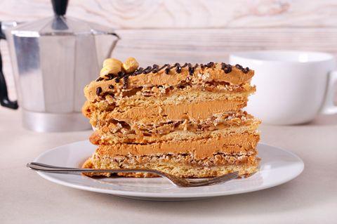 Snickers-Kuchen - soooo schokoladig!