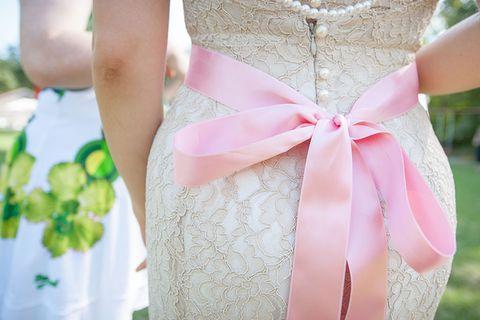 Ich habe mein Hochzeitskleid selbst genäht