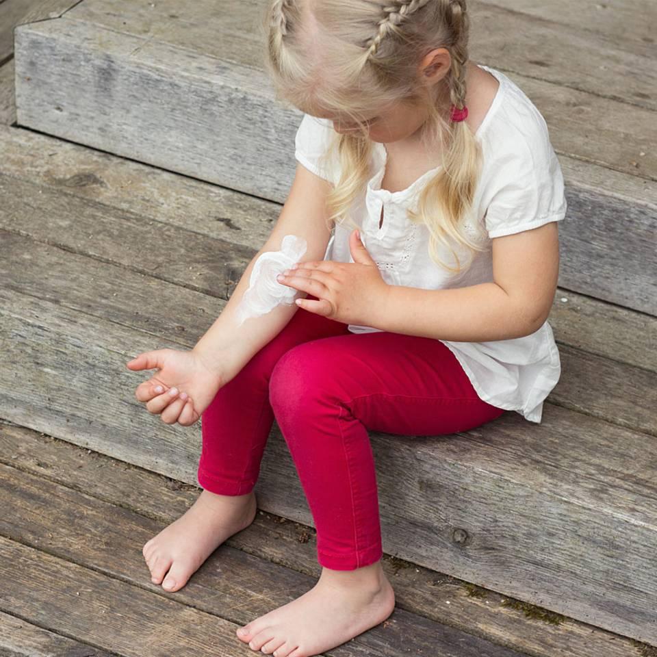 Neurodermitis bei Kindern – was hilft?