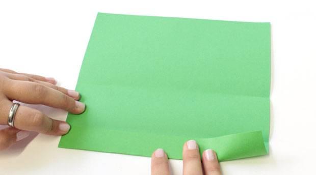 Briefumschlag falten - so geht's ganz einfach!