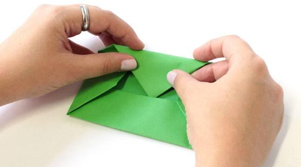 Brief Falten Umschlag Fenster : Anleitung umschlag falten so geht s brigitte
