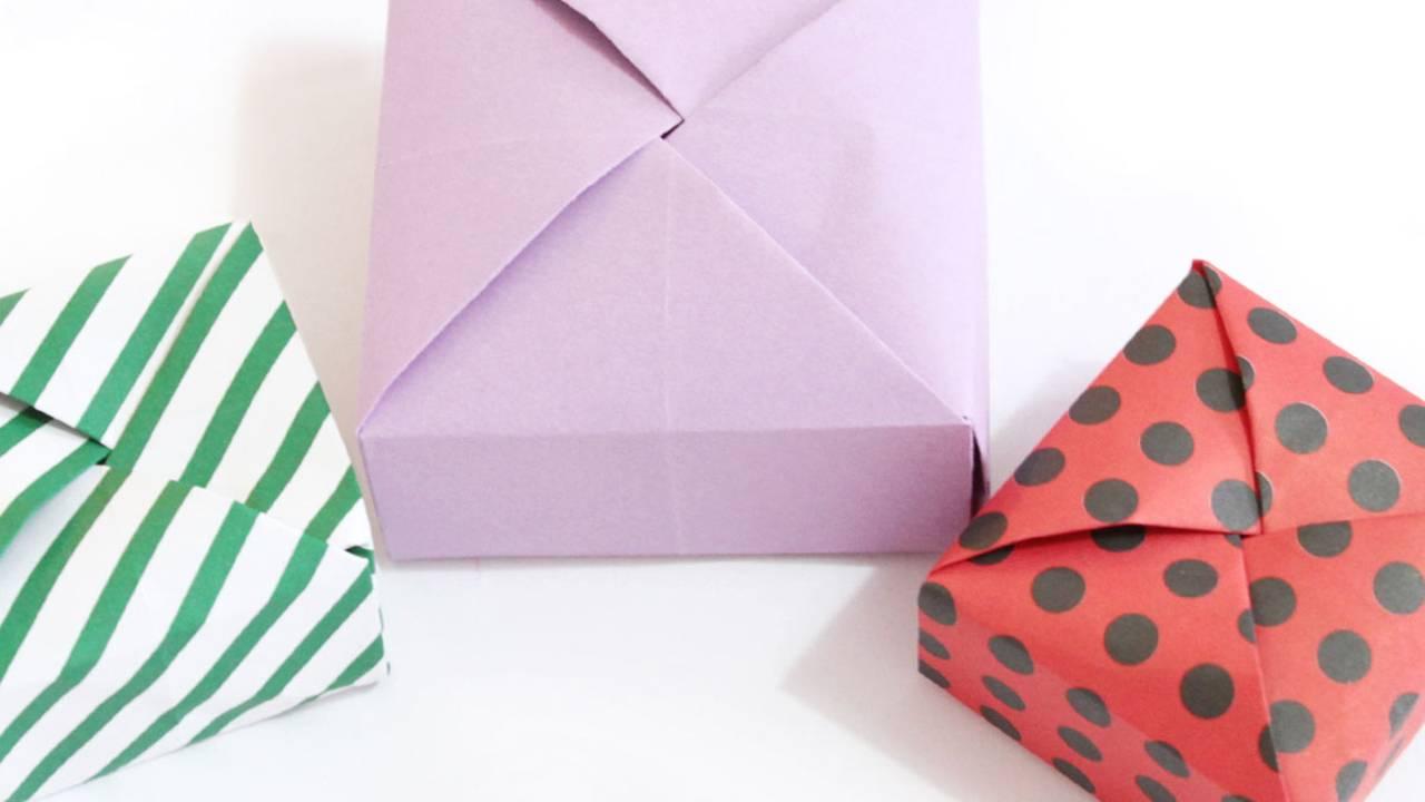 Fabulous Anleitung: Geschenkbox basteln - so geht's | BRIGITTE.de TT64