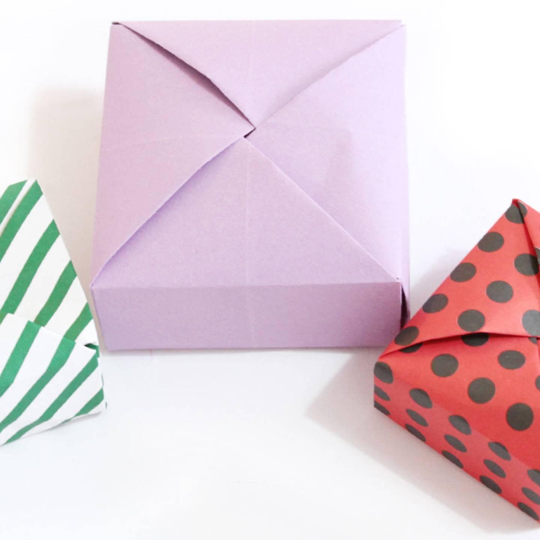 Schone Geschenkbox Basteln Anleitung Dekoking Diy