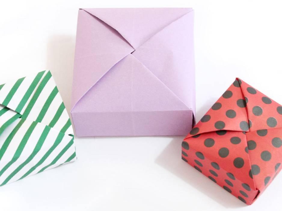 Anleitung: Geschenkbox basteln - so geht's