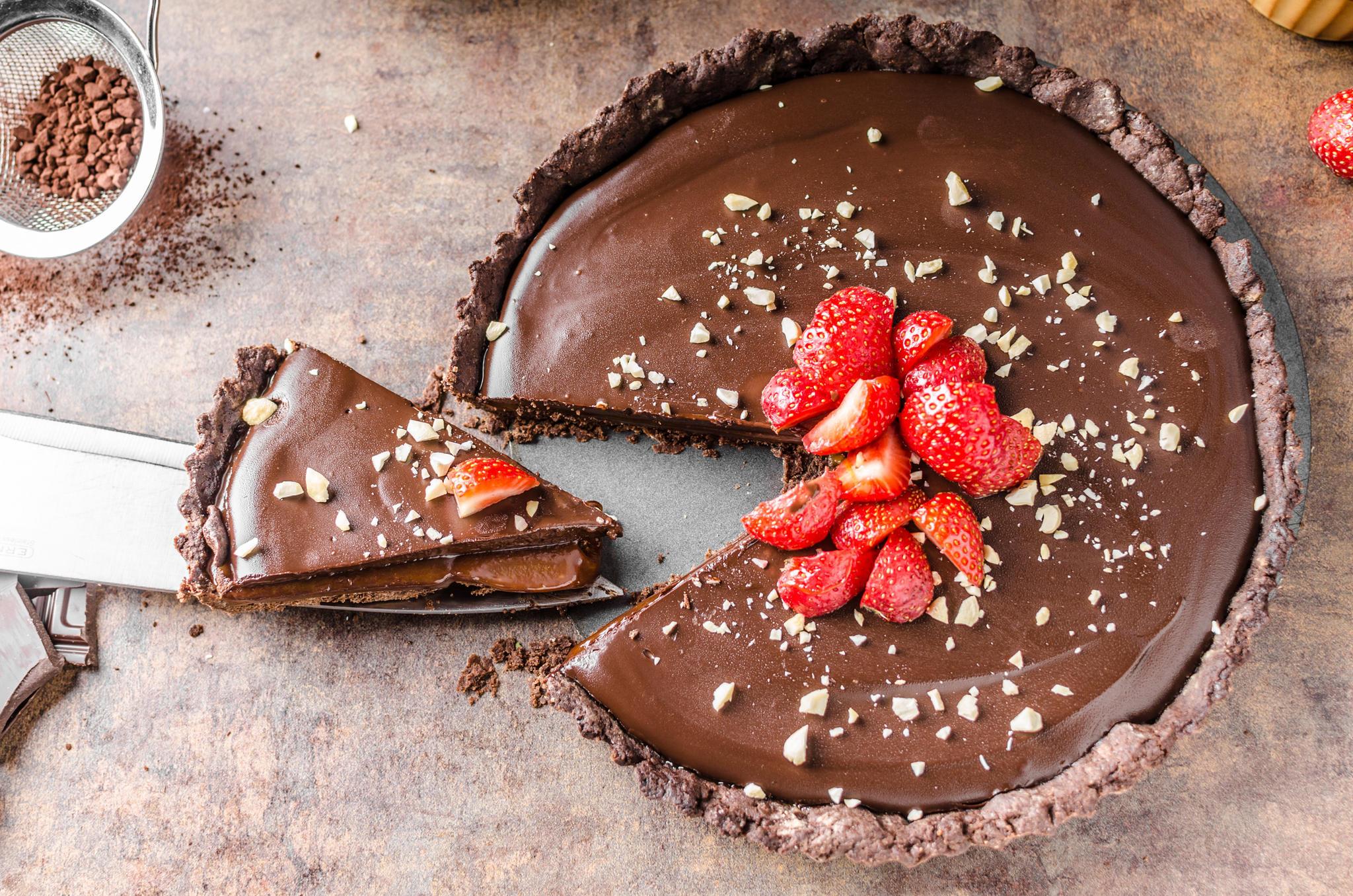 Nutella Torte Mit Erdbeeren Genial Gut Brigitte De