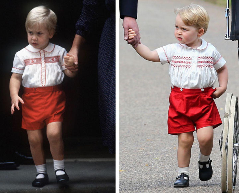 Nanu? Wer ist denn dieser Doppelgänger von Prinz George?