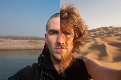 Zu Fuß durch China - ein Jahr in Selfies