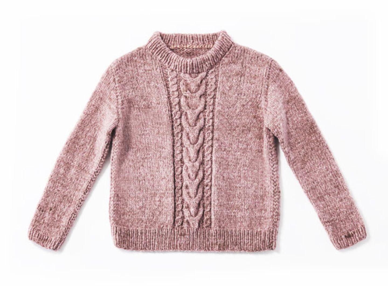 Pullover mit Zöpfen - eine Strickanleitung