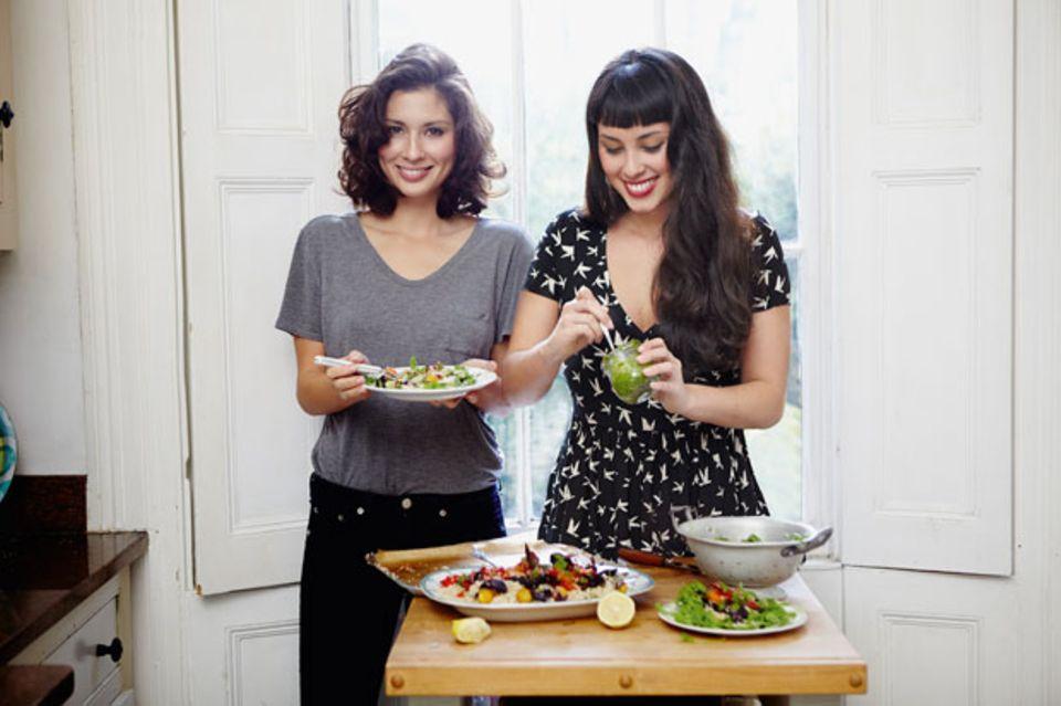 Die Schwestern Jasmine und Melissa Hemsley
