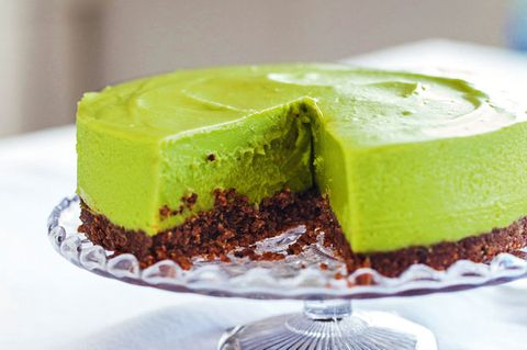 Avocado-Limetten-Cheesecake