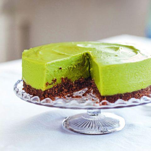 Avocado-Limetten-Cheesecake