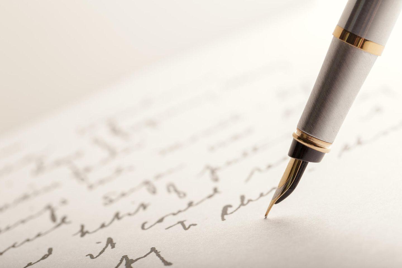 Graphologie: Was sagt meine Handschrift über mich?