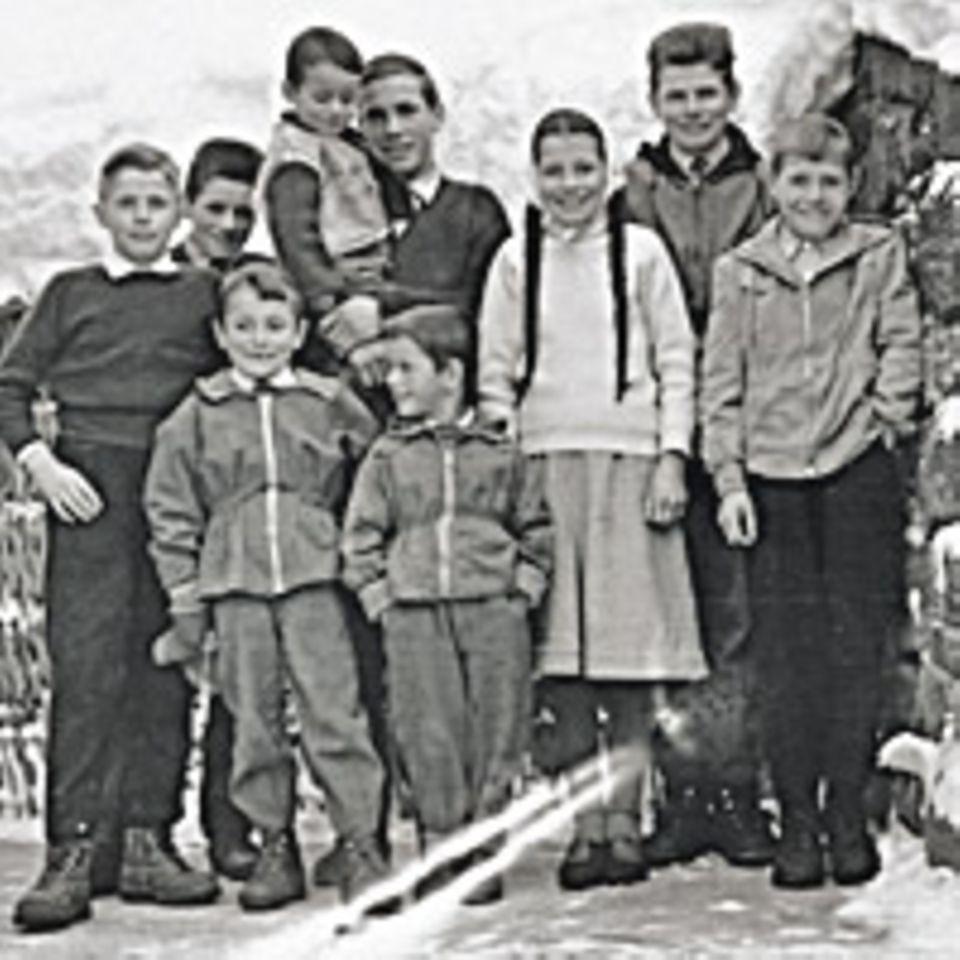 Waltraud Kastlunger und ihre Brüder