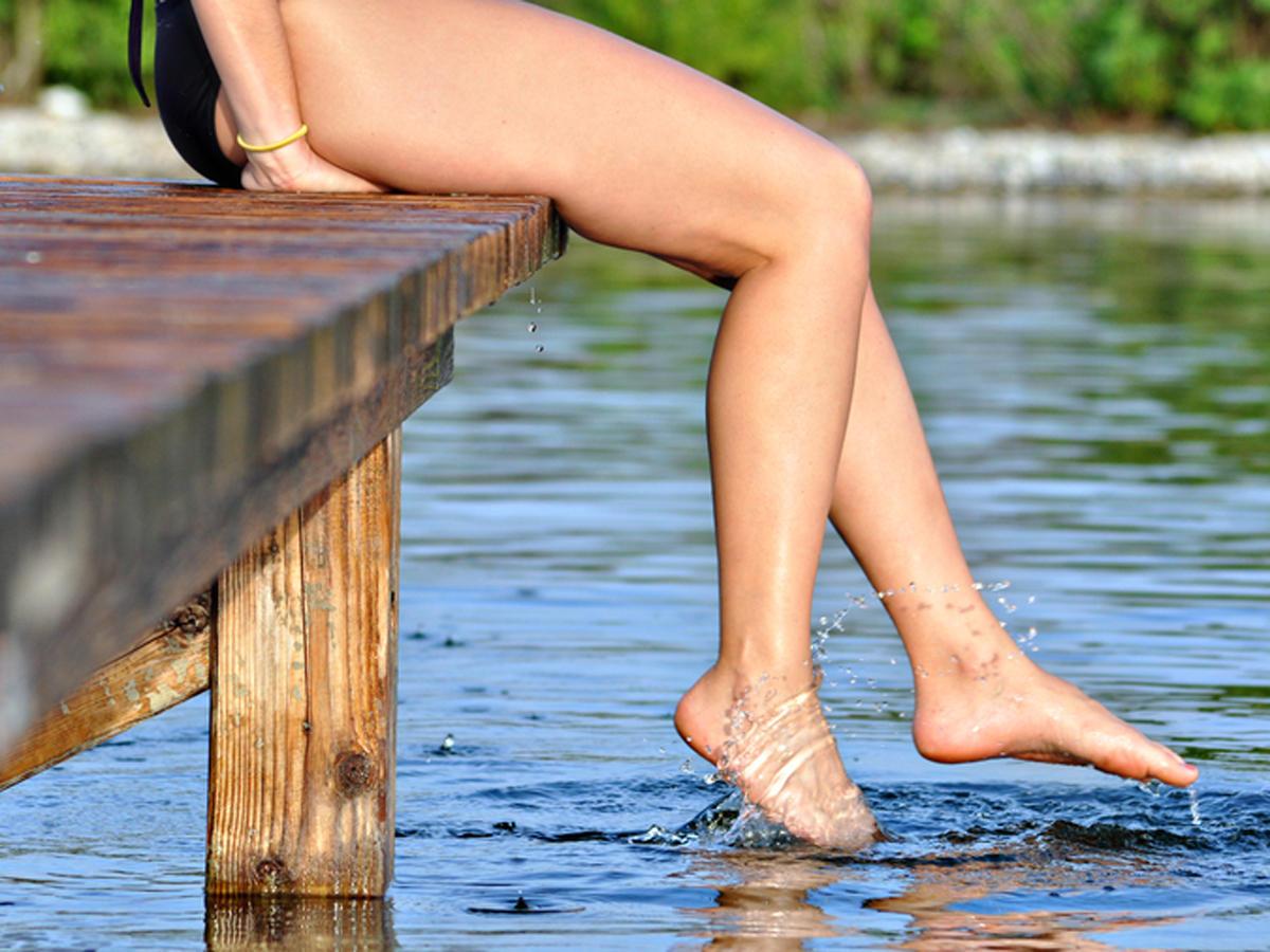 Cellulite bekämpfen: Nehmt es sportlich!