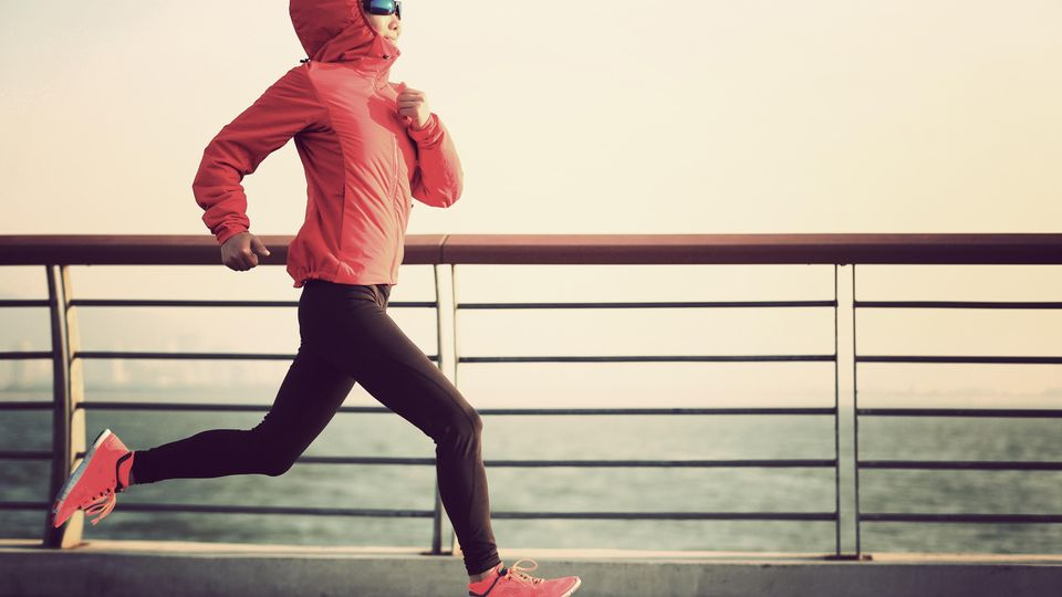 Laufen bei Kälte