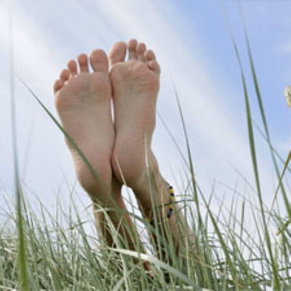 Eine tragende Rolle: Gesunde Füße
