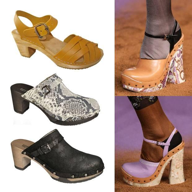 Trends 2015: Clogs von Moheda Toffeln und Softclox und bei Prada auf dem Laufsteg