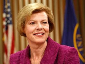 Tammy Baldwin, die erste bekennende Homosexuelle im US-Senat