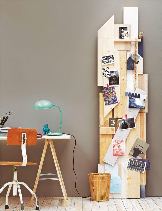 anleitung pinnwand aus holz selber bauen. Black Bedroom Furniture Sets. Home Design Ideas