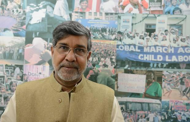 Taliban-Opfer: Kailash Satyarthi, der neben Malala den Friedensnobelpreis bekommt, ist Gründer der Organisation Bachpan Bachao Andolan (Bewegung zur Rettung der Kindheit) und kämpft seit über 20 Jahren gegen Kinderarbeit