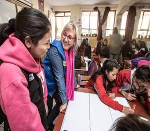 Warum Mädchen bei Krieg und Katastrophen besonders leiden