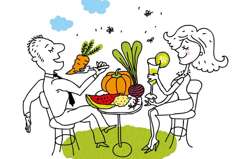 Vegan essen: Appetit auf Weltretten