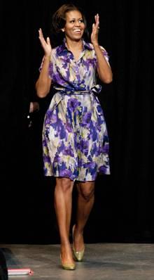 Styling-Taktik: Stil- und selbstbewusst: Michelle Obama.