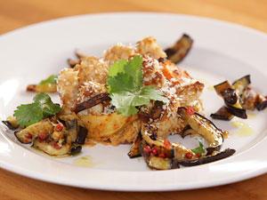 Veganer Blumenkohlauflauf - ein tolles Gäste-Essen