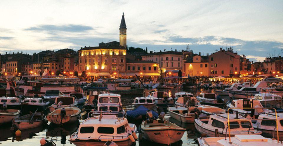 Gilt als der schönste Ort an Istriens Westküste: Rovinj