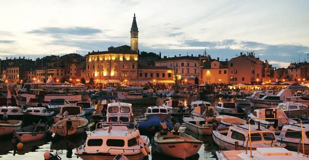 Campingurlaub: Gilt als der schönste Ort an Istriens Westküste: Rovinj