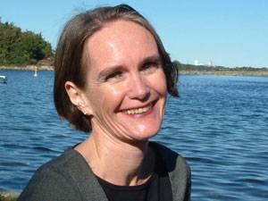 """60 Stimmen: Christine Finke, 47, bloggt als """"Mama arbeitet"""", ist Journalistin und alleinerziehende Mutter von drei Kindern (5, 8 und 13). Die Vereinbarkeit von Familie und Beruf ist für sie ein Herzensthema – und das umso mehr, seit sie für einen familienfreundlichen norwegischen Kinderbuchverlag arbeitete."""