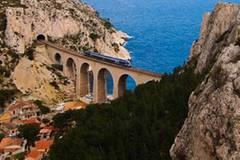 Côte d'Azur: Vom Zug aus sieht man besser
