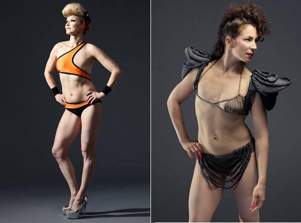 """Monokini 2.0: """"Jeder ist perfekt, wie er ist"""" - Milsse (re.) und Elina wollen andere betroffene Frauen inspirieren."""
