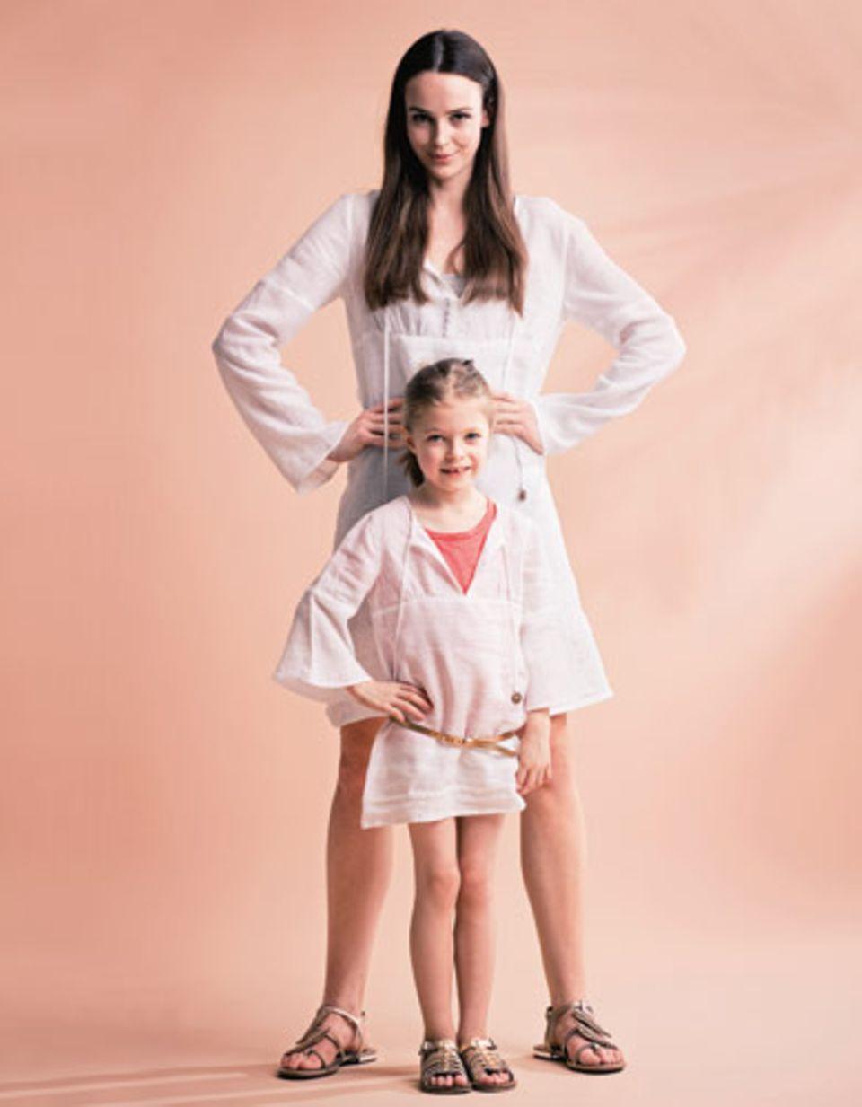 Eine Tunika für Mutter und Tochter