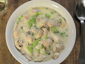 Hühnerfrikassee: Unser Rezept als Video-Kochschule